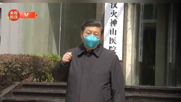 """A epidemia está quase reprimida"", disse Xi Jiping em Wuhan"