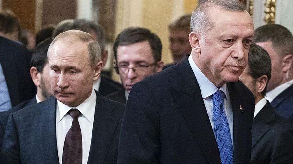 Rusya Devlet Başkanı Vladimir Putin / Cumhurbaşkanı Recep Tayyip Erdoğan