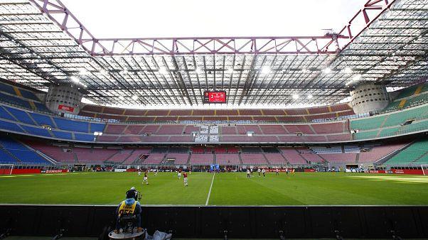 Лига чемпионов и Серия А на карантине
