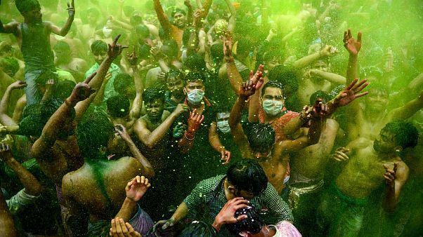 A színek fesztiválja Indiában