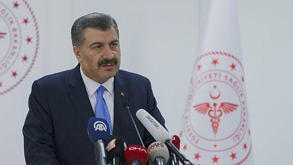 Sağlık Bakanı Fahrettin Koca, Türkiye'deki ilk koronavirüs vakasını duyurdu