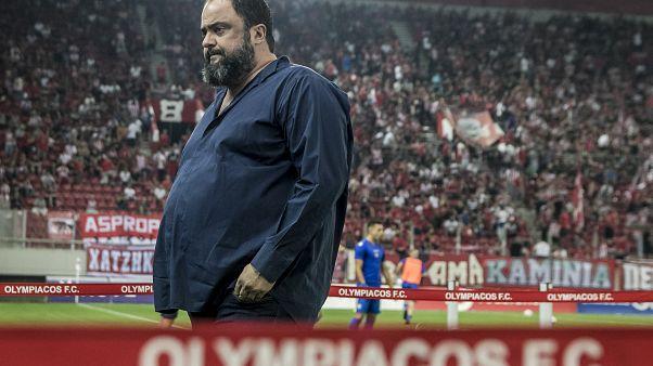 Ο πρόεδρος του Ολυμπιακού, Βαγγέλης Μαρινάκης