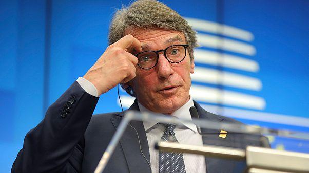 Hafta sonunu İtalya'da geçiren AP Başkanı Sassoli kendini evinde karantinaya aldı