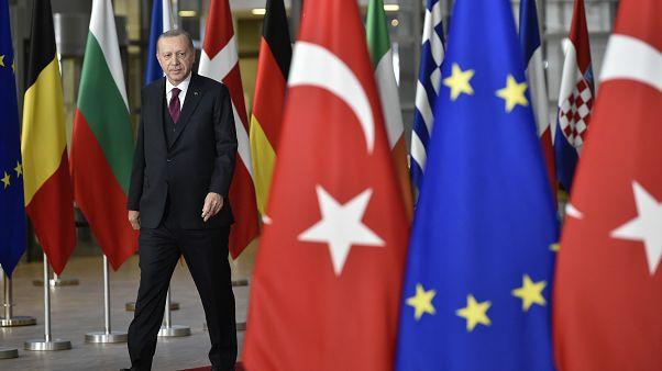 Türkischer Präsident Erdogan bei der EU