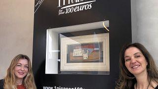 مسابقة خيرية لاختيار من سيفوز بلوحة بيكاسو مقابل 100 يورو في فرنسا