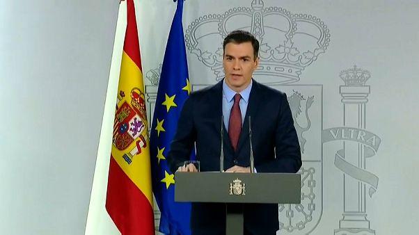 Pedro Sánchez anuncia medidas para las empresas y las familias ante la crisis del coronavirus