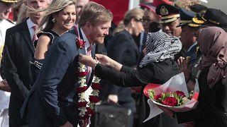 Hollanda Kralı Willem-Alexander ve eşi Maxima Endonezya'ya ziyarette bulunuyor
