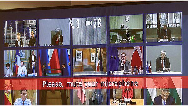"""اجتماع طارئ عبر الفيديو لقادة الاتحاد الأوروبي بهدف """"تعزيز التنسيق"""" لمواجهة كورونا"""