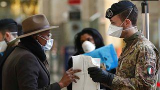 کرونا در ۱۱۰ کشور؛ شمار مبتلایان در اروپا از ۲۲ هزار نفر فراتر رفت