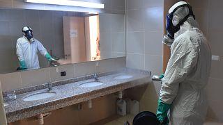 Adana İl Milli Eğitim Müdürlüğü Covid-19'a  karşı ildeki tüm okul ve kreşlerde dezenfekte çalışmalarına başladı