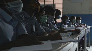 Μαθητές σε σχολείο στην Ινδία