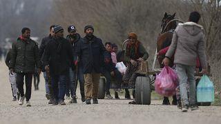 Ομάδα μεταναστών στην Τουρκία - ΦΩΤΟ ΑΡΧΕΙΟΥ