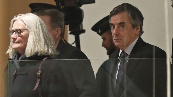 François et Penelope Fillon, le 24 février au tribunal correctionnel de Paris, France
