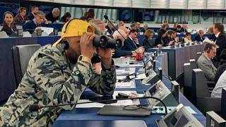 Magid Magid in the EU Parliament
