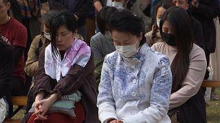 Japan remembers victims of devastating earthquake and tsunami