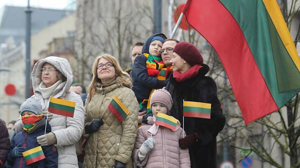 Lithuania marks 30 years since its independence from the Soviet Union.