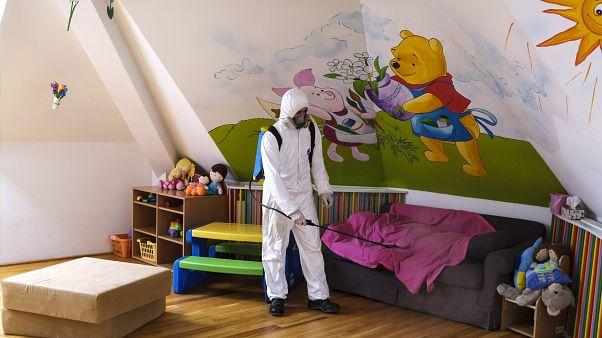 Детский сад в Румынии