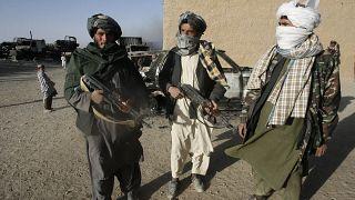 Taliban militanları / Gazne / Afganistan (arşiv)