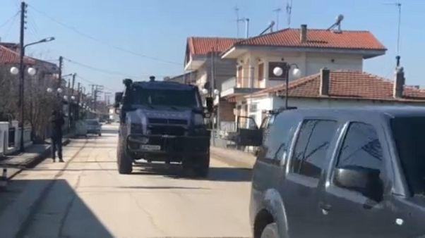 Fronteira da Grécia com a Turquia reforçada com ajuda europeia