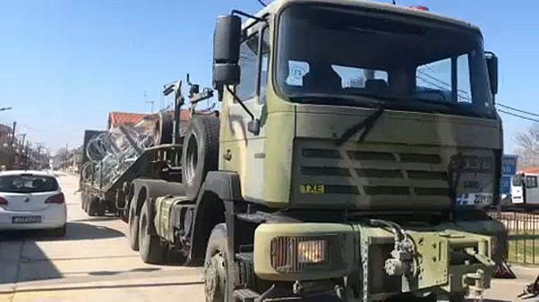 Έβρος: Συνεχίζονται οι αφίξεις των δυνάμεων της FRONTEX