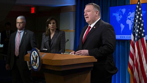 ABD'nin yıllık insan hakları raporunu Dışişleri Bakanı Mike Pompeo sundu