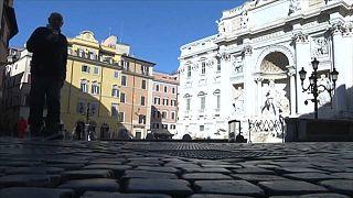 COVID-19: Рим - закрытый город