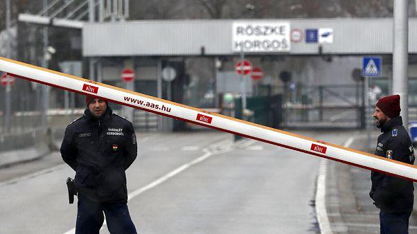 Lezárták a kisebb szerb-magyar határátkelőket