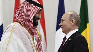 Muhammed bin Selman,Vladimir Putin