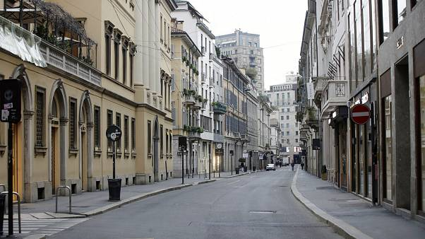 Alles zu: Menschenleeres Mailand