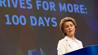 Commissione von der Leyen: 100 giorni di imprevisti e di sfide