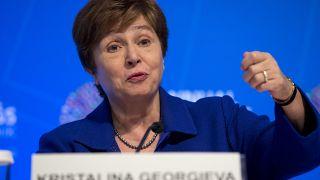 مديرة صندوق النقد الدولي كريستينا جيورجيفا