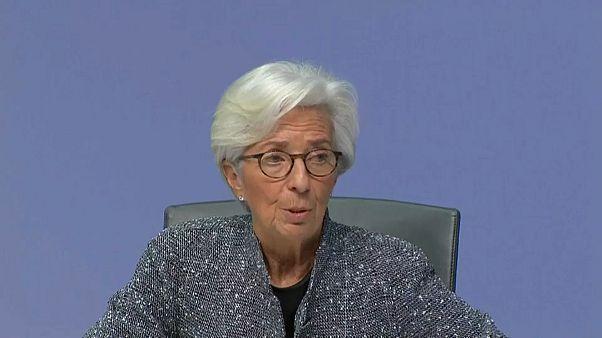 BCE garante financiamento dos bancos e taxas de juros negativas