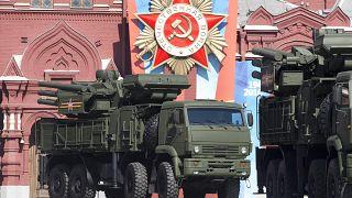 Rus yapımı kısa ve orta menzilli karadan havaya füze ve uçaksavar topçu sistemi Pantsir