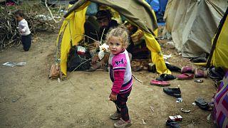 آلبوم عکس از پناهجویان در مرز ترکیه با یونان