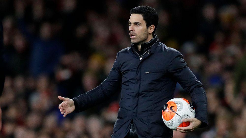 El entrenador del Arsenal, Mikel Arteta, da positivo por COVID-19 45