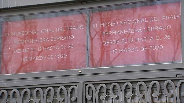 La cultura, víctima colateral del coronavirus en España
