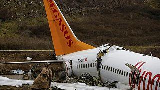 Kaza yapan Pegasus uçağı
