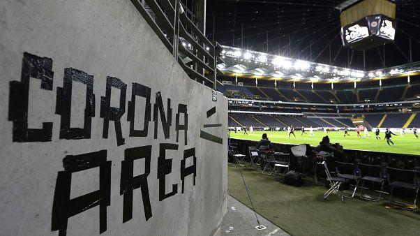 Soccer UEFA Games Postponed Virus Outbreak