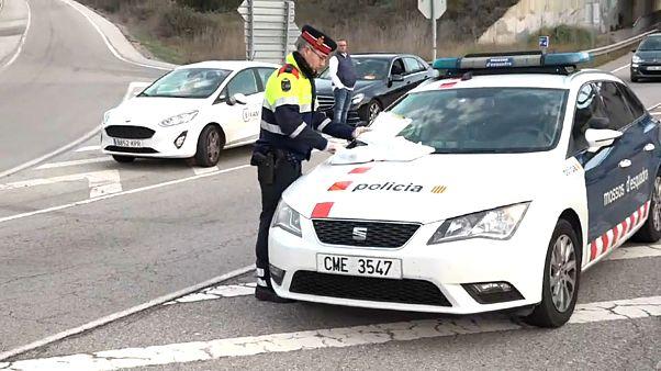 España: Cataluña confinada, estado de alarma en el País Vasco y fronteras con Marruecos cerradas