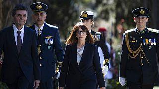نخستین رئیس جمهوری زن در یونان سوگند یاد کرد