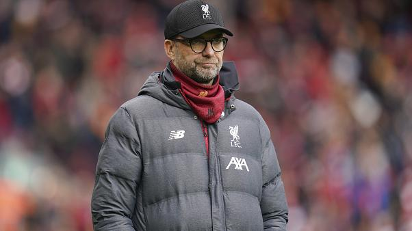 Jurgen Klopp's Liverpool are currently 25 points clear in the Premier League.