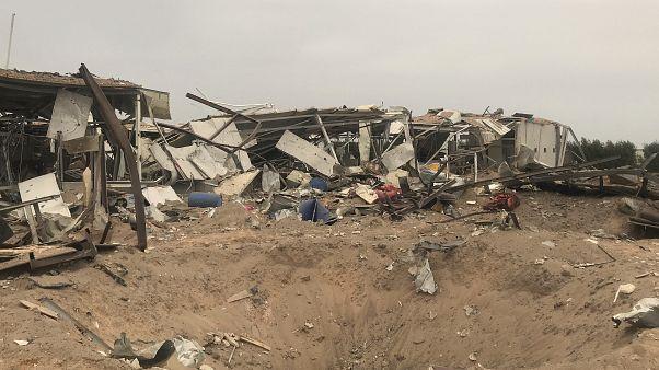 ABD, İran destekli gruplarca yapıldığını öne sürdüğü saldırı sonrası, bu grupların karargahlarını hedef aldı. Kerbela Havaalanı da ABD saldırılarının hedefindeydi