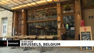 رستورانهای بروکسل برای مبارزه با کرونا ویروس بسته میشوند