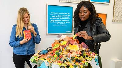 Can you imagine paying for food with rubbish? You can in London.