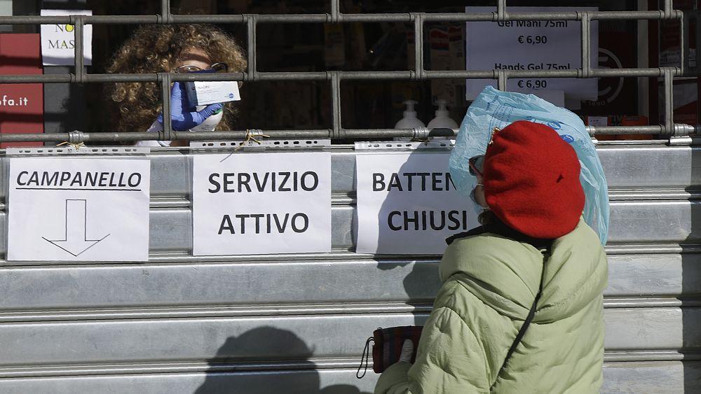 Coronavirus: el ex primer ministro italiano Mario Monti sobre la reacción 'lenta' de Europa 1