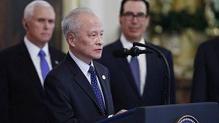 Çin'in Washington Büyükelçisi Cui Tiankai