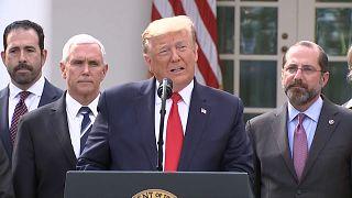 Trump declara emergência nacional nos Estados Unidos
