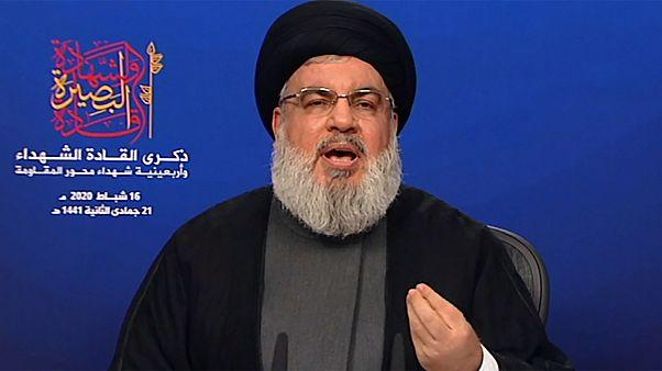أمين عام حزب الله اللبناني حسن نصر الله