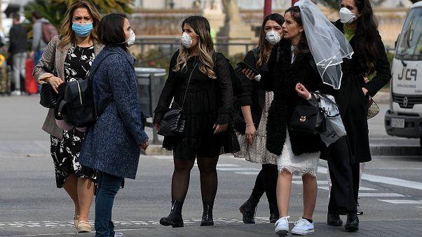 """شاهد: مدريد تدخل خط """"مدن الأشباح"""" بسبب فيروس كورونا"""