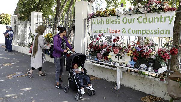 New Zealand Mosque Shooting Memorial